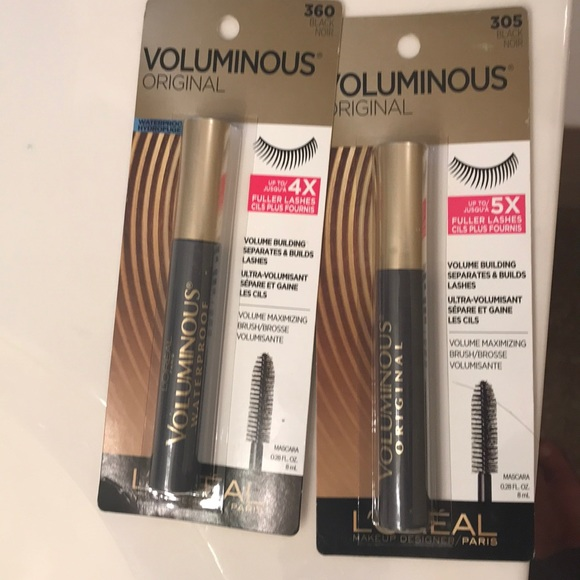 99c1054821d L'Oreal Makeup   Loral Voluminous Mascara Nwt 2   Poshmark